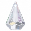 Swarovski Drop 6022 Raindrop 33mm Aurora Borealis Crystal